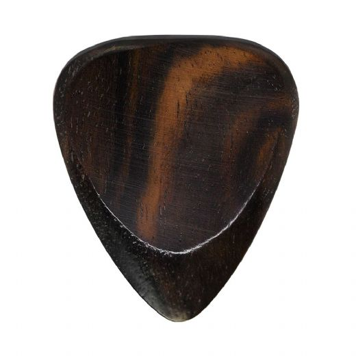 Timber Tones Fat African Ebony 1 Guitar Pick